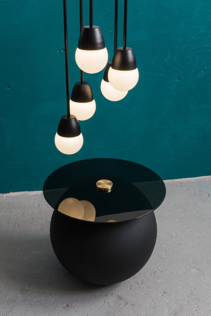 Bora 1 and Pluto table by Ben Barber Studio