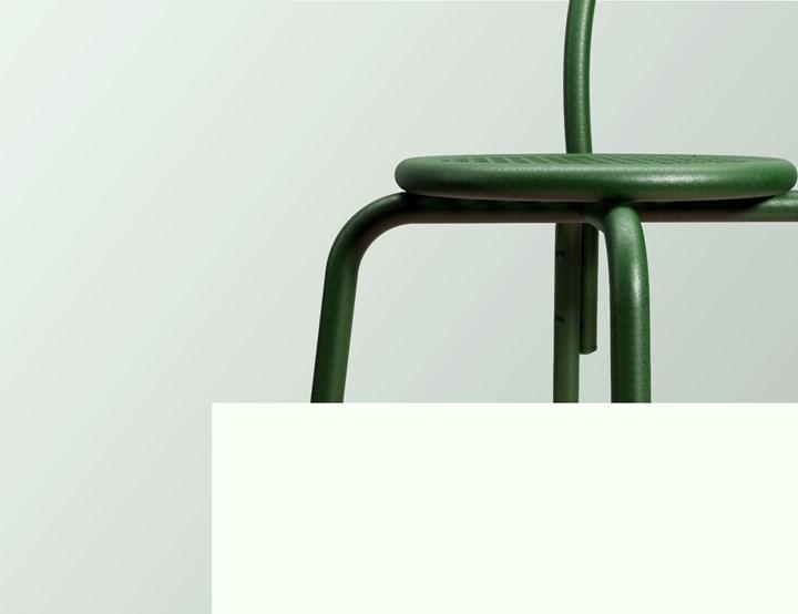 Esterilla chair by Tu Taller Design and H.J.A.