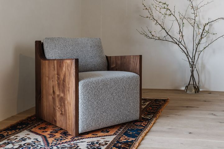 Arc Lounge Chair with Arms