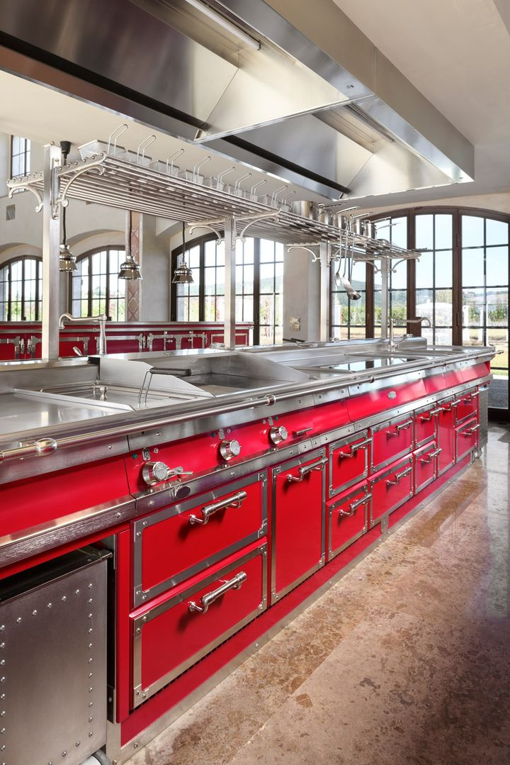 Rubin Red & Brushed Nickel