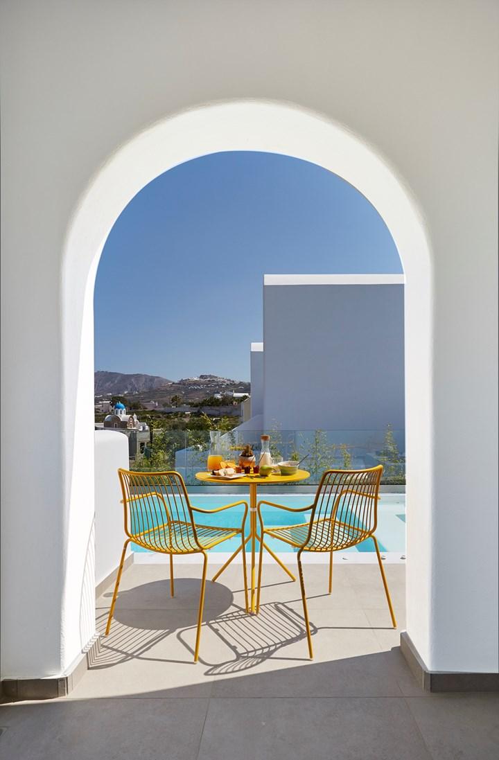 Pedrali a Santorini