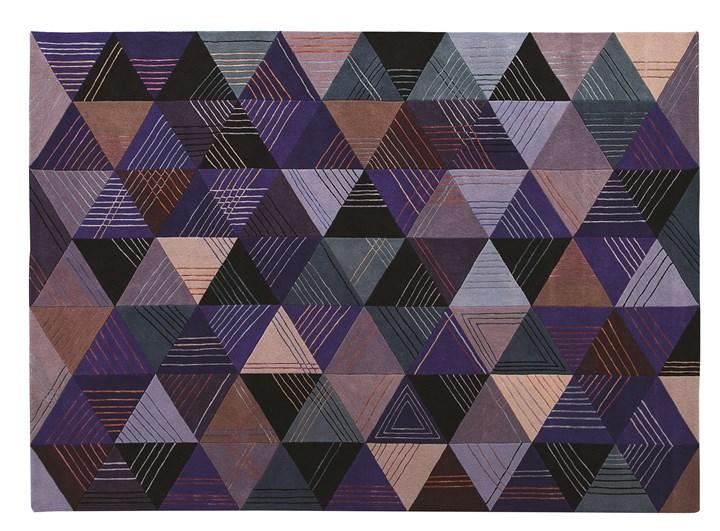 Blue Losanges rug