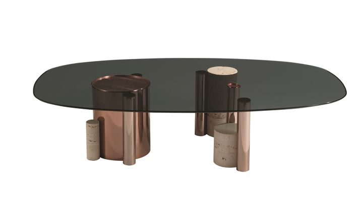 Silo cocktail table