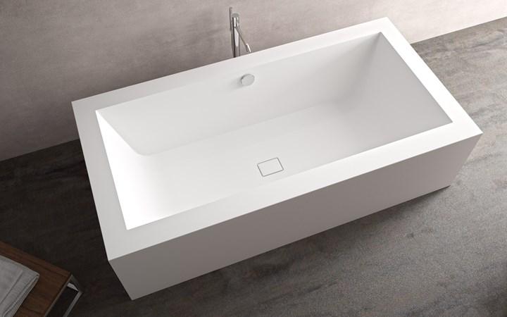 Total White Bathroom by HI-MACS®