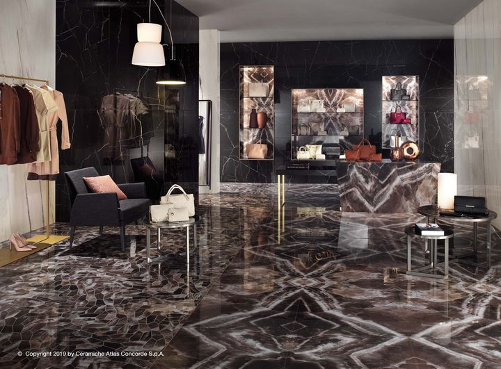 Marvel Dream: Marble, Colors and Decorations
