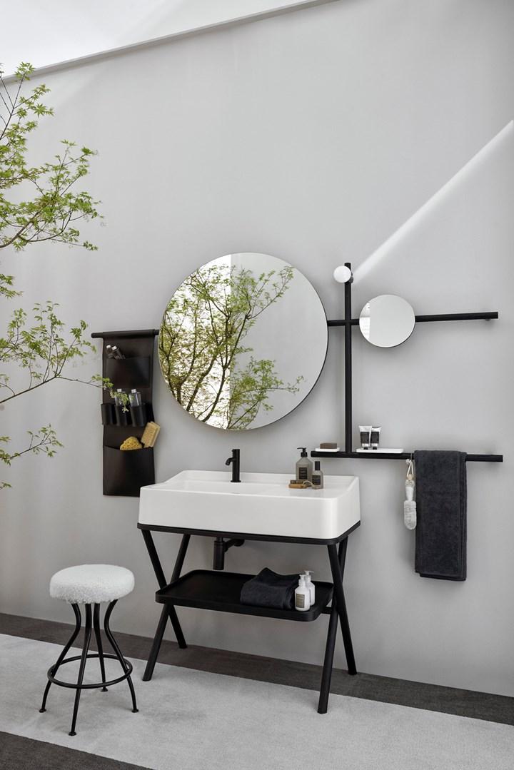 Siwa by Cielo. Il lavabo è nomade