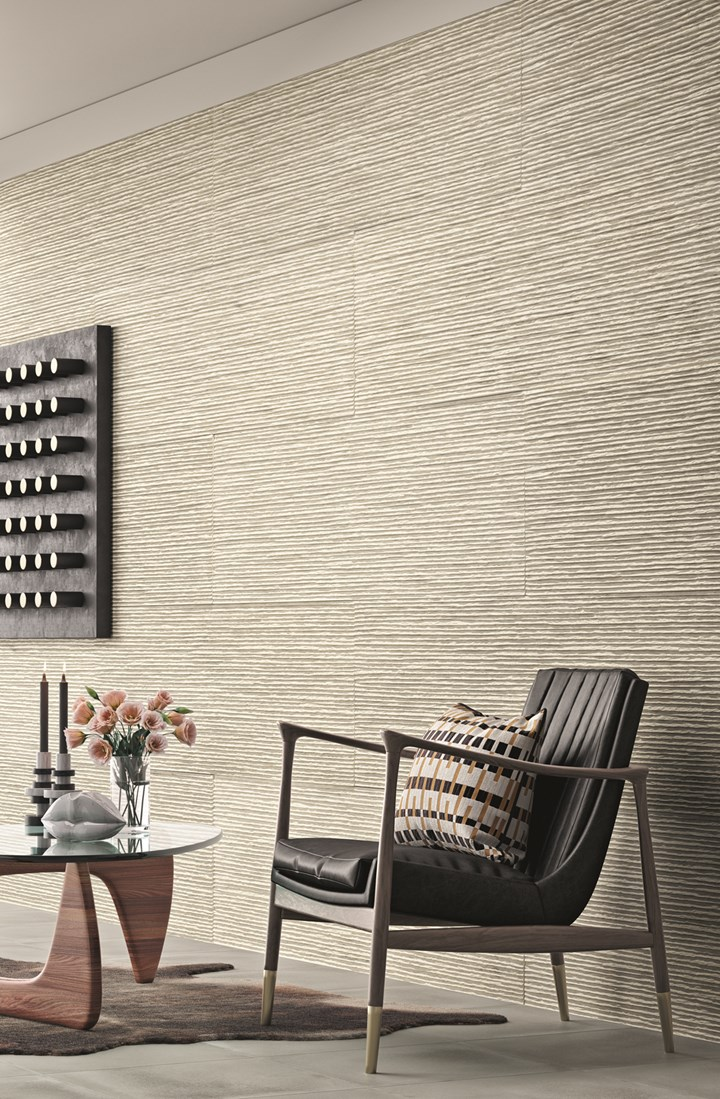 Concrete-Based Wallcoverings Are Conquering Architecture and Interior Design Hearts