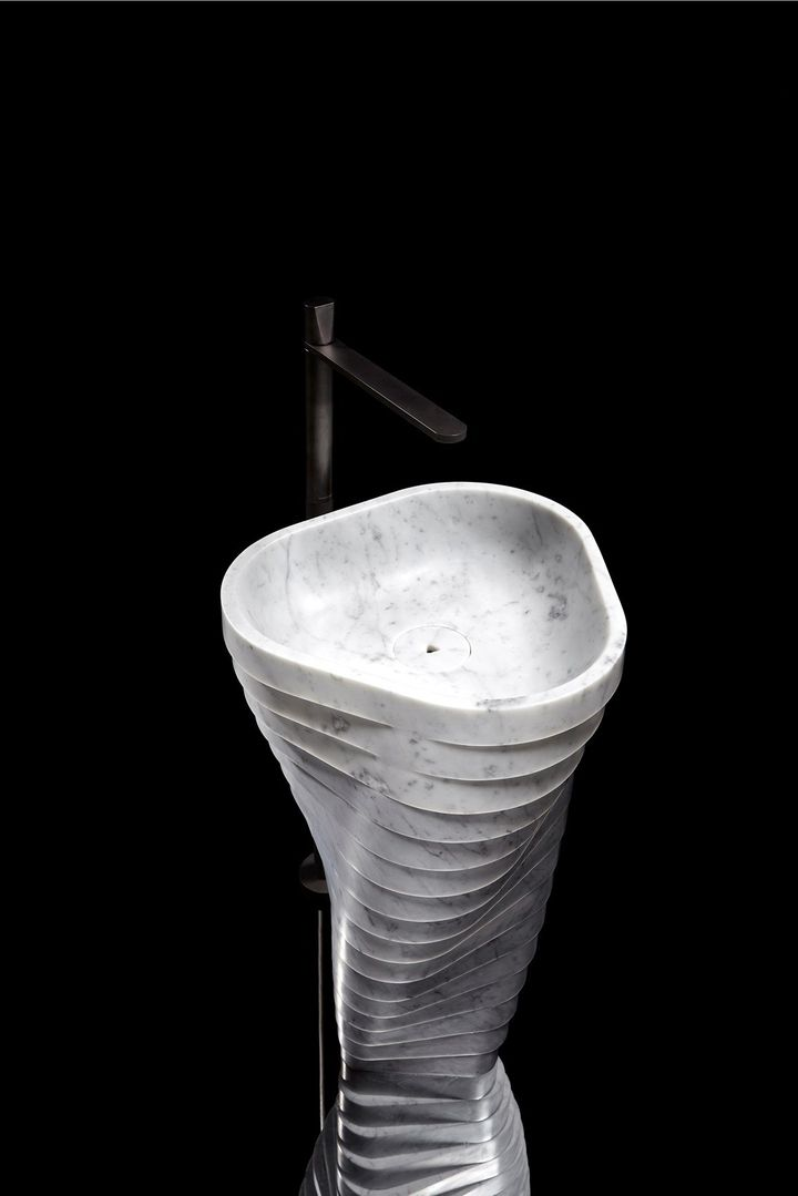 Vortice: Marble becomes fluid