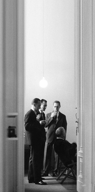Castiglioni brothers, Dino Gavina, Marcel Breuer