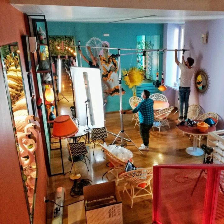 backstage DECO Collection, FERROLUCE handmade light