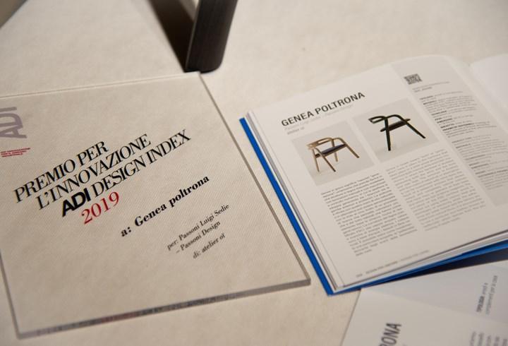 Passoni nell'ADI Design Index 2019