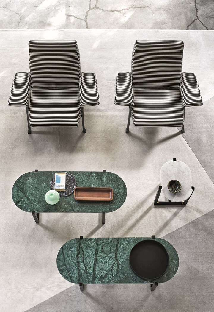 Sigmund by Arflex. Reflect and Contemplate