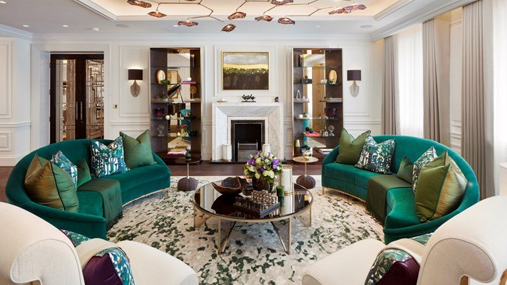 Koket Shines in a Gorgeous Penthouse Apartment in Eaton Place Belgravia