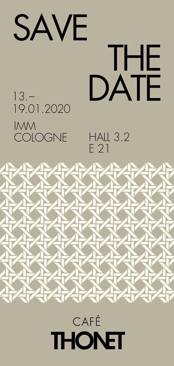 Café Thonet at imm 2020
