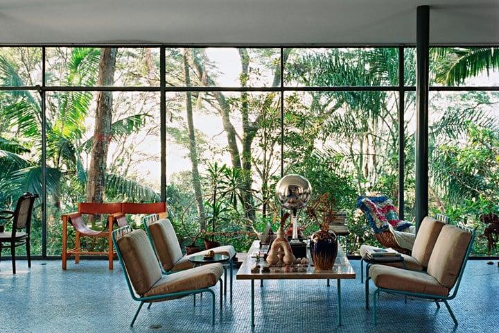 Lina Bo Bardi, Casa de Vidro, São Paulo, Brazil, 1952 © Nelson Kon, 2002