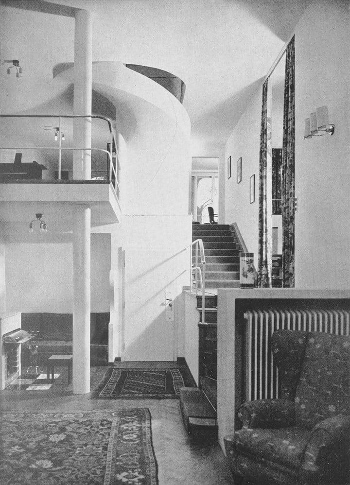 Josef Frank, Villa Beer, Vienna, Austria, 1929 © MAK