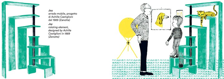 Graphic Novels Illustrate the Work and Life of Achille Castiglioni