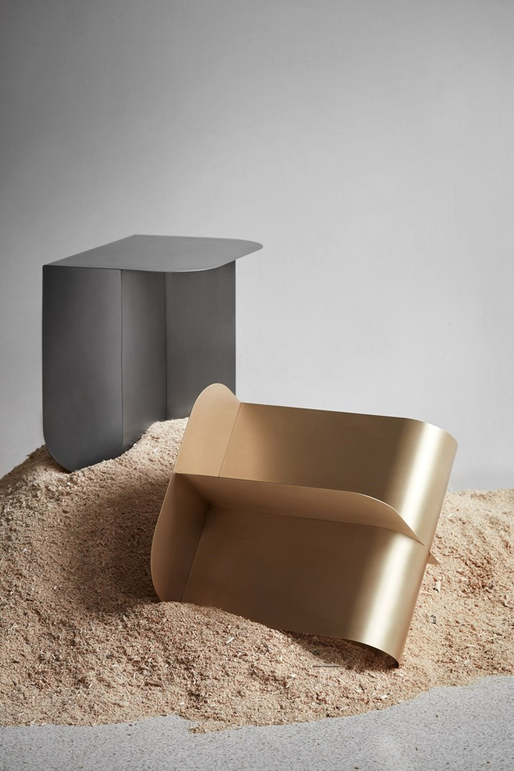 Mass: Sculpture or Side Table?