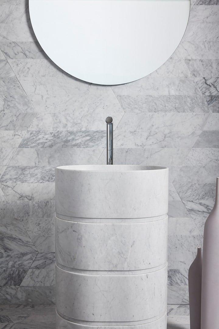 washbasin column design Monitillo1980