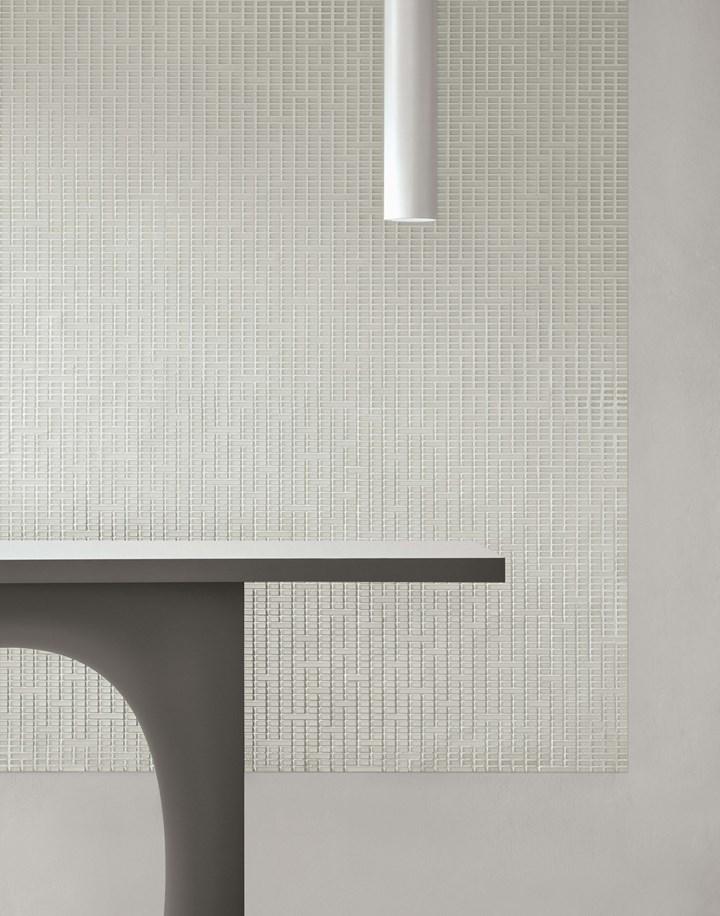 Fluid, Depth, Continuous Mosaic Patterns