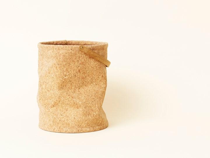 Nest Cork Paper Bin