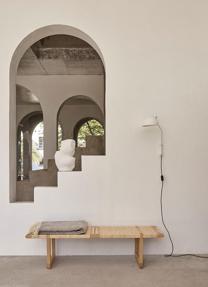 Børge Mogensen's Craftsmanship Revived in Versatile Table Bench
