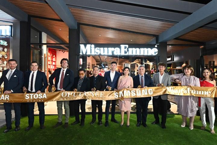Il nuovo showroom MisuraEmme a Manila