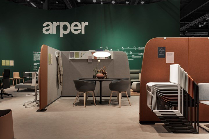 Soft Er And More Sustainable Arper At Sff