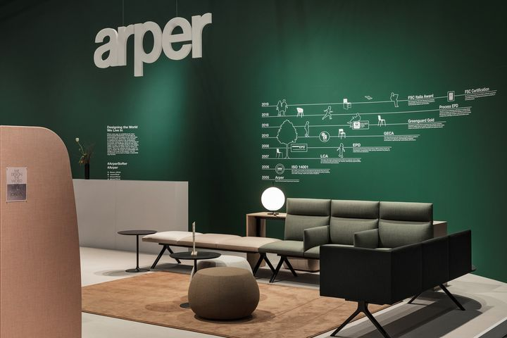 Soft(er) and More Sustainable. Arper at SFF