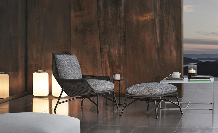 Prince Cord Outdoor Collection, Minotti