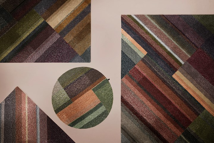 Kasthall Leftovers Make for Colorful Rugs