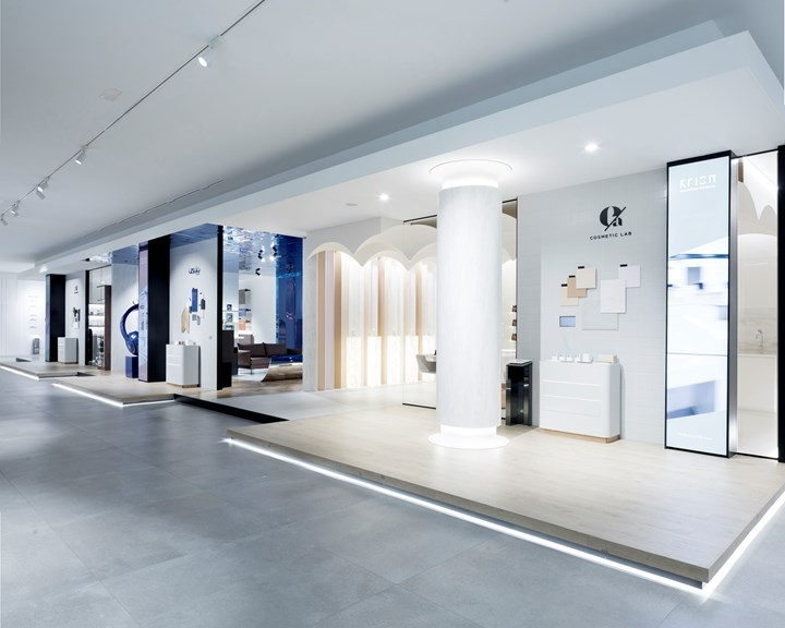 The New KRION® Showroom Designed by estudi{H}ac