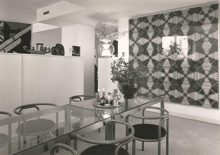 Gae Aulenti's studio and apartment in Via Annunciata, Milan, 1969 Courtesy of Archivio Gae Aulenti, photo: © Aldo Ballo