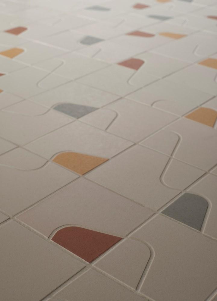 Quilt: Stoneware Patchwork