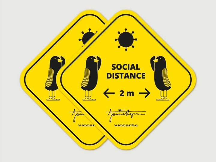 Keep Your Social Distance Up