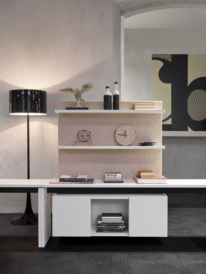 Organize the Workspace with Essential Modular Elements