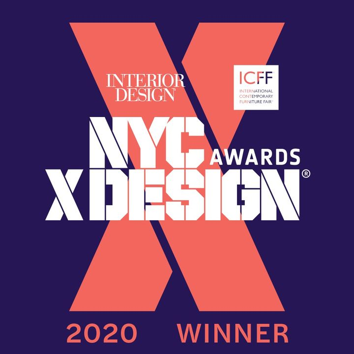 estudi{H}ac with Estiluz wins the NYCxDESIGN AWARDS