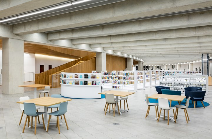 New Central Library: a Futuristic Culture Hub
