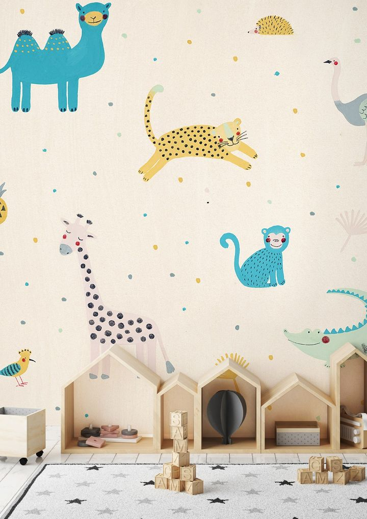 Naive by WallPepper®: Creativity Enliven Walls