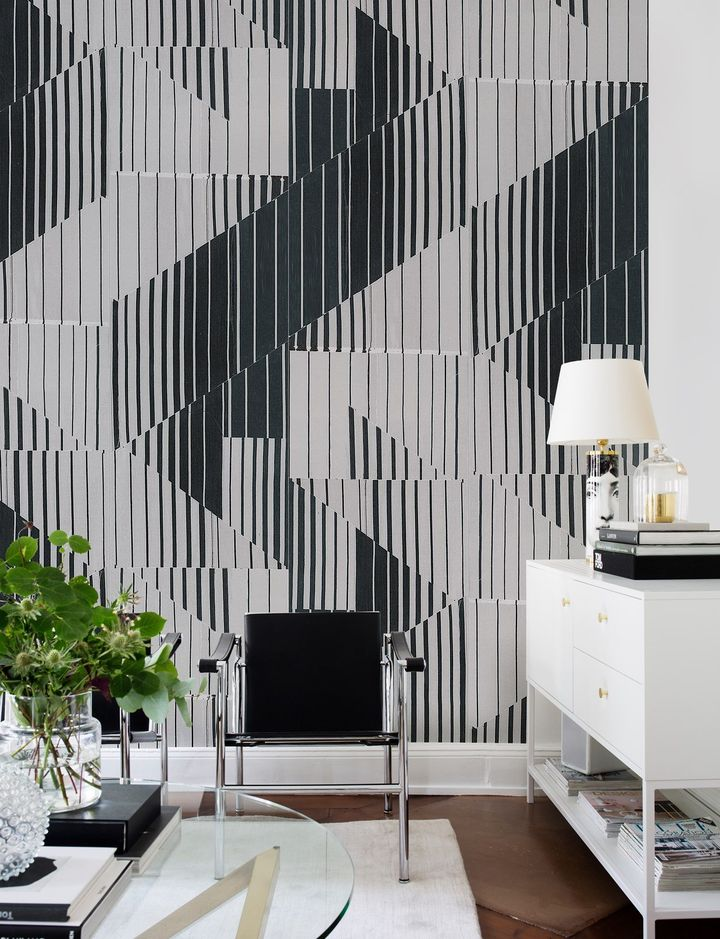 The Ready-Made Modular Wallpaper