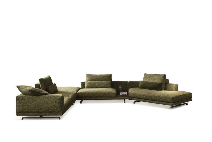 The new sofa system by Vincent Van Duysen for Molteni&C