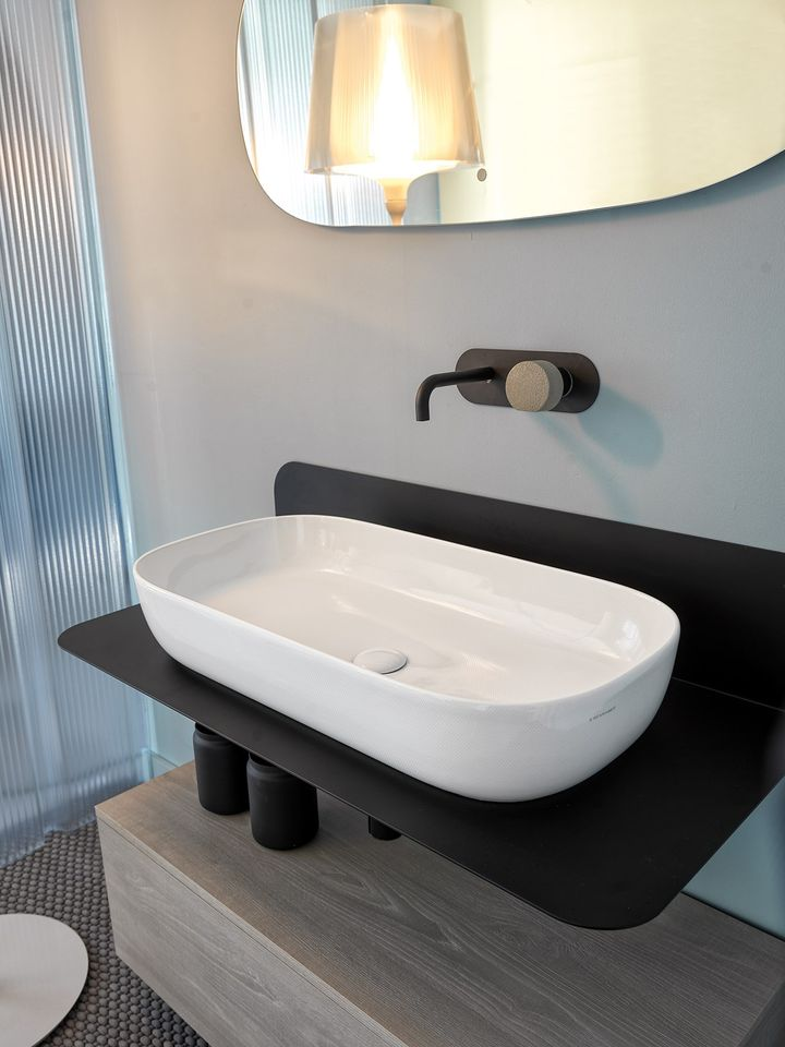 Plana, the new project for bathroom by Scarabeo