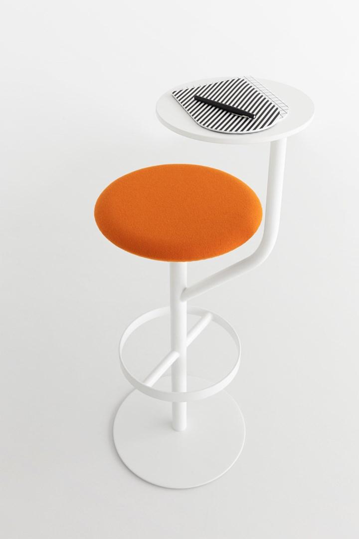 Aaron: Stool + Side Table