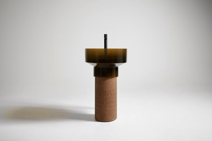 Cork and Cristalmood. Sustainable Bathroom