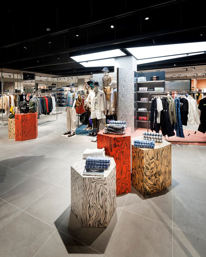 ALPI wood enhances the new spaces of Rinascente in Florence