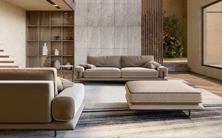 The Modular Blues Sofa by Turri