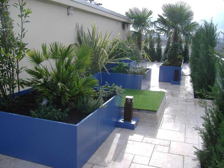 IMAGE'IN: Durable Planters in Fiber Cement