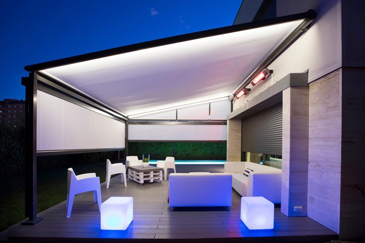 Creative leeway with the Pergola awning model by markilux