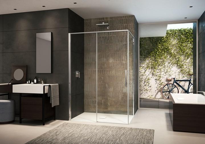 La nuova serie di cabine doccia Toga di Provex