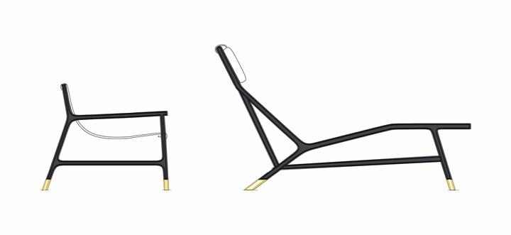 Morelato reinterpreta la chaise longue
